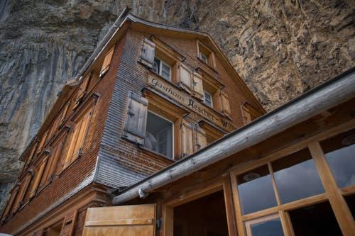Das Berggasthaus Aescher-Wildkirchli. (Bild: Raphael Rohner)
