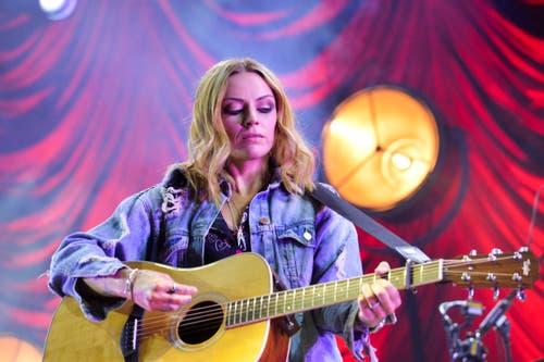 Amy McDonald traf mit ihren romantischen Liedern genau den Nerv des Publikums. (Bilder: Donato Caspari)