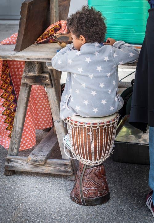 Kulturenfest in Weinfelden auf dem Marktplatz. (Bild: Andrea Stalder)