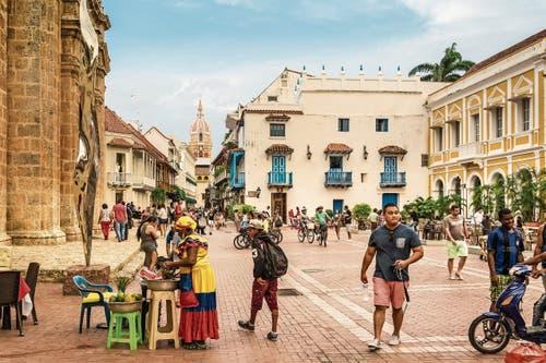 Cartagena hat gut eine Million Einwohner und zählt zu den schönsten Kolonialstädten Südamerikas. Seit 1984 gehört sie zum Unesco-Weltkulturerbe.