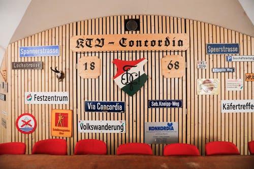 Ein Blick in den Keller der «Concordia».