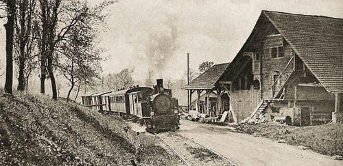 ...und bei Eschenbach (Datum unbekannt).