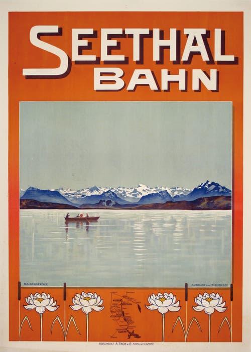 Werbeplakat aus dem Jahr 1905.