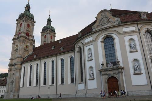 Das Klosterviertel lockt Touristen von überall her nach St.Gallen. (Bild: Samira Hörler)