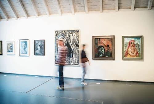 Das Kunstmuseum Thurgau in der Kartause Ittingen (im Bild) und das Oetwiler Museum präsentieren diesen Herbst Werke von Helen Dahm. (Bild: Andrea Stalder)