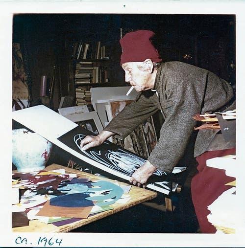 Die Kunst war stets ein fester Bestandteil von Helen Dahms Leben. (Bild: PD)