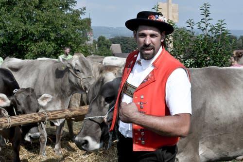100 Jahre Braunviehschau in Schönholzerswilen. (Bild: Donato Caspari)