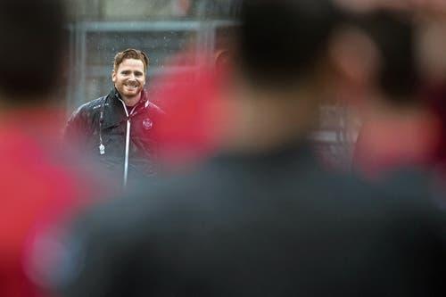 Luganos Coach Guillermo Abascal. (Bild: Gabriele Putzu/Keystone)