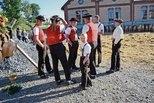 Zur Eröffnung gibt's in Schönengrund ein erstes Zäuerli.