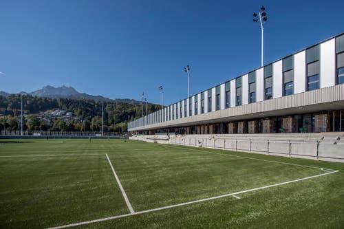 «Das wohl modernste Stadion der Schweiz», sagt SCK-Präsident Werner Baumgartner.