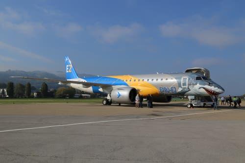 Zwei Stück der E190-E2 will die Fluggesellschaft People's für ihre Flugrouten ab Altenrhein anschaffen. (Bild: Vivien Huber)