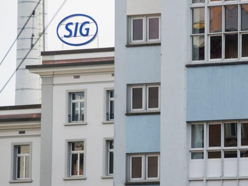 SIG Combibloc kehrt nach nach rund elf Jahren Pause an die Schweizer Börse zurück. Mit einer angepeilten Börsenkapitalisierung von 3,6 Milliarden Franken geht es um den bisher gewichtigsten Börsengang an der SIX in diesem Jahr. (Bild: KEYSTONE/ENNIO LEANZA)