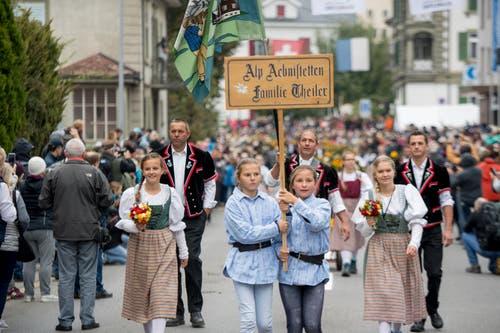 Der traditionelle Anlass fand zum 15. Mal statt. (Bild: Nadia Schärli (Schüpfheim, 29. September 2018))