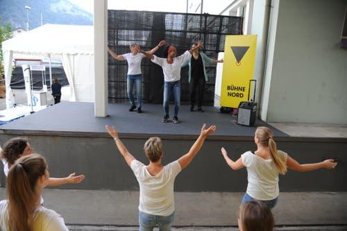 Tanzkurs mit Perry Baumann. (Bild: Urs Hanhart, Altdorf, 6. September 2018)