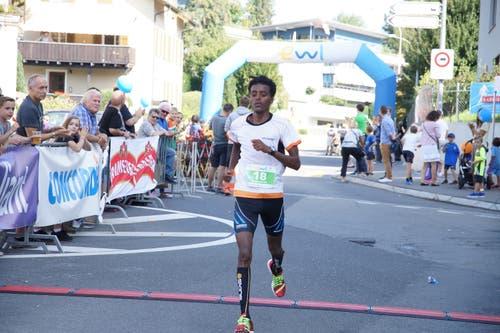 Der schnellste Mann des Tages war Weldegabriel Tekle. (Bild: PD/Gabriel Kaspar (8. September 2018))