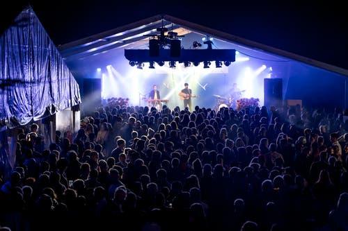 Baba Shrimps begeisterte das Publikum. (Bild: Marc Püntener, Altdorf, 7. September 2018)