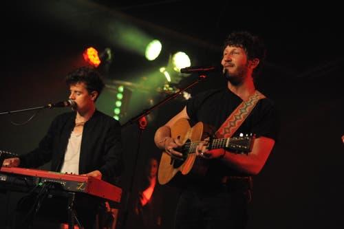 Die Band Baba Shrimps bei ihrem Auftritt auf der Hauptbühne. (Bild: Urs Hanhart, Altdorf, 7. September 2018)