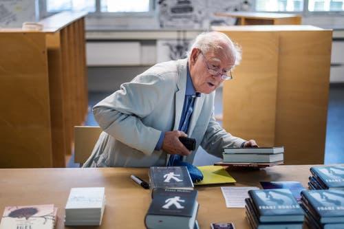 Bibliothek Hauptpost: Lesung mit Franz Hohler