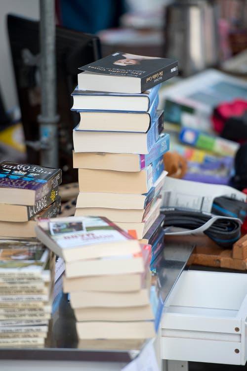 Bücher sind ein Klassiker. (Bild: Maria Schmid (Zug, 8, September 2018))