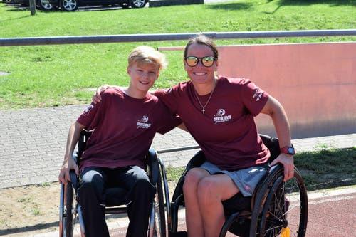 Paralympicsportlerin Sandra Graf (Bild: Maria Keller)