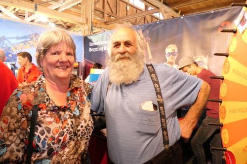 Auch Bauer Sepp und seine Claudia waren zu Gast an der «Uri 18». (Bild: Carmen Epp, Altdorf, 8. September 2018)