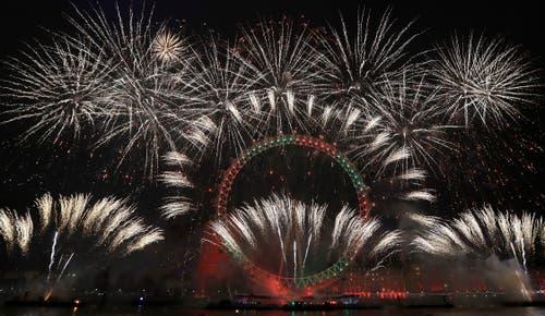Das bekannte London Eye. (Bild: AP Photo/Kirsty Wigglesworth)