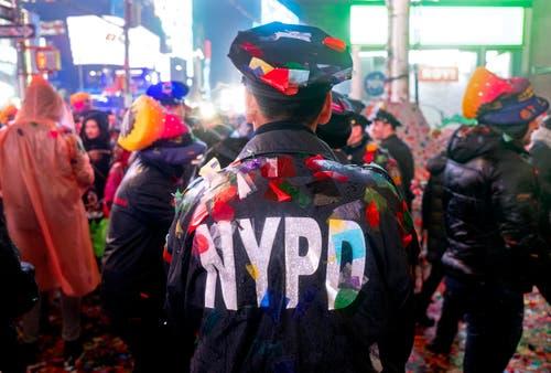 USA: Am Times Square in New York. (Bild: AP Photo/Craig Ruttle)