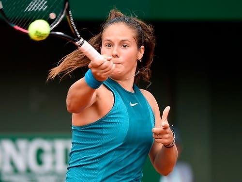Daria Kassatkina, Bacsinszkys Gegnerin, ist die Nummer 10 der Welt (Bild: KEYSTONE/EPA/CAROLINE BLUMBERG)