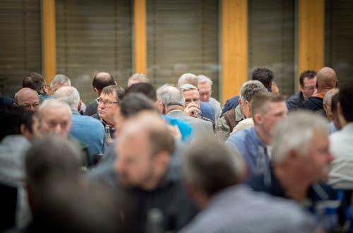 In der Mehrzweckhalle Weitsicht in Märstetten fand der traditionelle Hiläri statt. (Bild: Andrea Stalder)
