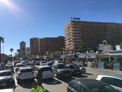 Zahlreiche Hotel-Komplexe stehen an der Costa del Soll in Marbella und wie auf dem Bild in Fuengirola. (Bild: Daniel Wyrsch (13. Januar 2019))