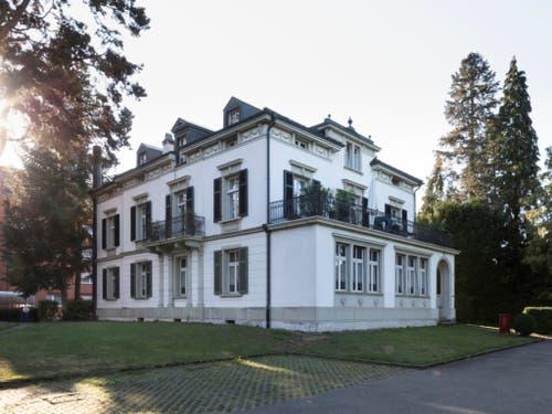 Eine Villa an der Jurastrasse zeugt vom Wohlstand in vergangenen Epochen. (Bild: KEYSTONE/GAETAN BALLY)