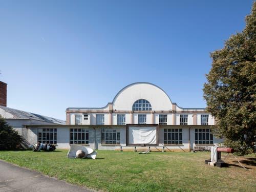 Das Areal der ehemaligen Porzellanfabrik Langenthal soll mit Umsicht umgestaltet werden. (Bild: KEYSTONE/GAETAN BALLY)