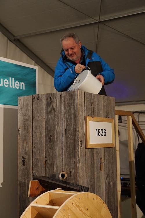 Werner Zimmermann, Gemeinderat. (Bild pd/Kuno Scheuber, Alpnach, 14. Januar 2019)