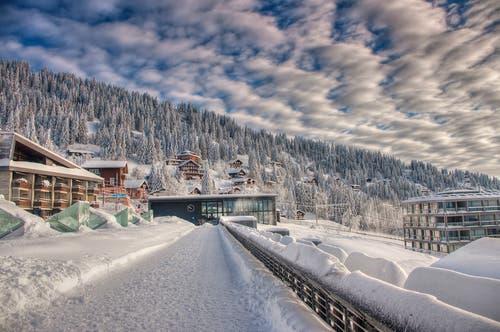 Wintermorgen auf Rigi. (Bild: Caroline Pirskanen (Rigi Kaltbad, 15. Januar 2019))