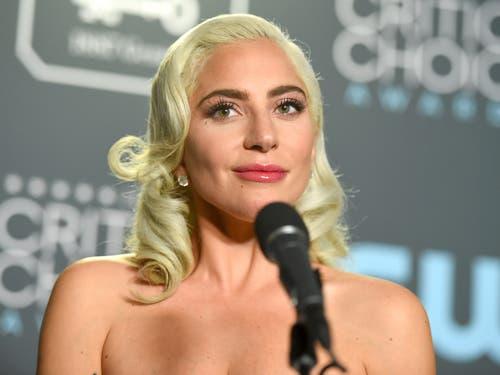 Lady Gaga könnte auf den Oscar für eine Hauptdarstellerin für «A Star is Born» hoffen. (Bild: Keystone/Jordan Strauss)