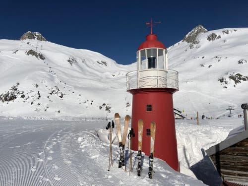 Richtig Winter auf dem Oberalppass. (Bild: Markus Brülhart (Andermatt, 19. Januar 2019))