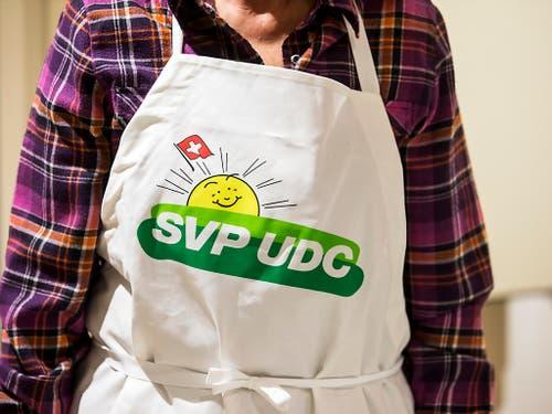 Die SVP-Delegierten verabschieden am heutigen Samstag das Parteiprogramm für die nächsten vier Jahre. (Bild: KEYSTONE/ALEXANDRA WEY)