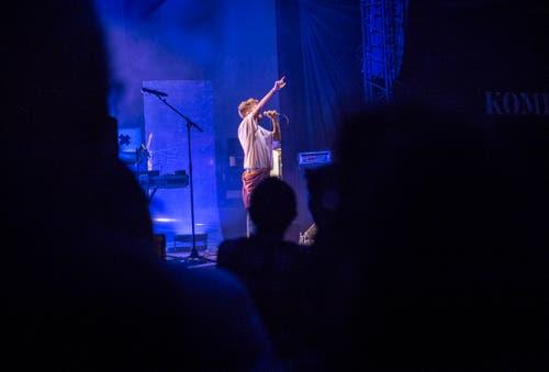 Vorband ist der Dchweizer Rapper ZID aus Zürich. (Bild: Andrea Stalder)