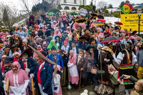 Zahlreiche Maskenliebhaber fanden sich in Kriens ein. (Bild: Manuela Jans-Koch, Kriens, 26. Januar 2019)