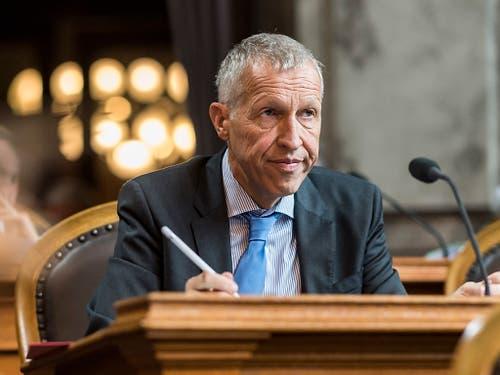 Der abtretende Ständerat Konrad Graber soll von einer CVP-Frau im Amt beerbt werden. (Bild: KEYSTONE/ALESSANDRO DELLA VALLE)