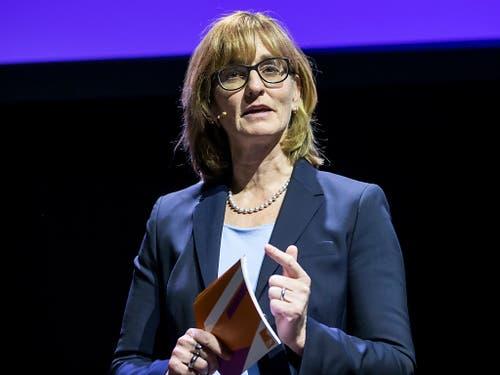 Knapp unterlegen: Kantonsrätin Yvonne Hunkeler verpasst die Nomination als Ständeratskandidatin. (Bild: KEYSTONE/ALEXANDRA WEY)