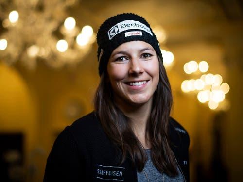 Neben Beat Feuz hofft die Ski-Nation vor allem auf Slalom-Spezialistin Wendy Holdener (Bild: KEYSTONE/GIAN EHRENZELLER)