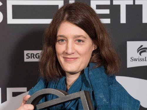 Fanny Bräuning gewinnt bereits zum zweiten Mal den «Prix de Soleure», den höchstdotierten Filmpreis der Schweiz. (Bild: KEYSTONE/ADRIEN PERRITAZ)