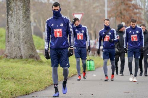 02.01.2019; Luzern; FUSSBALL SUPER LEAGUE - Training FC Luzern; Lazar Cirkovic (Luzern) (Andy Mueller/freshfocus)