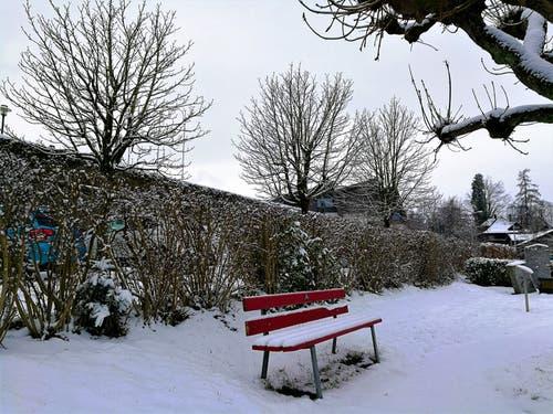 Winterliche Impressionen von Malters. (Bild: Urs Gutfleisch (Malters, 5. Januar 2019))