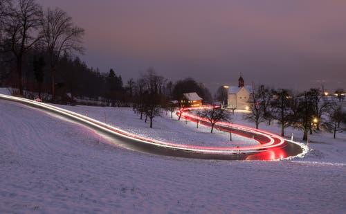 Winterstimmung St.Verena oberhalb Zug (Bild: Daniel Hegglin (Zug, 6. Januar 2019))