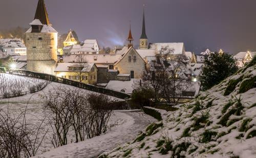 Ein Hauch von Winter. (Bild: Daniel Hegglin (Zug, 5. Januar 2019))