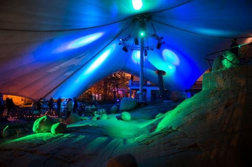 Ein weiterer Standort des Festivals war der Gletschergarten. (Bild: Dominik Wunderli (9. Januar 2019))