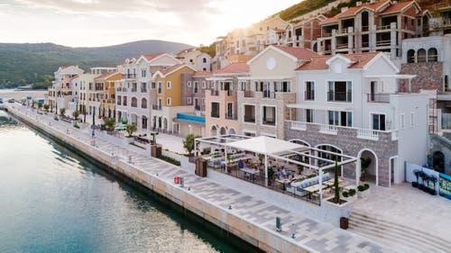 Ein sagenhafter Anblick: Das Resort Lustica Bay in Montenegro. (Bild: PD)