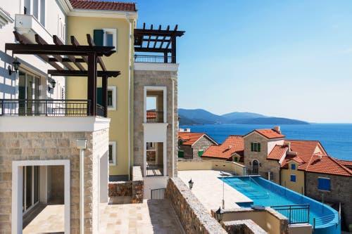 So präsentiert sich das neue Resort von Samih Sawiris in Montenegro. (Bild: PD)